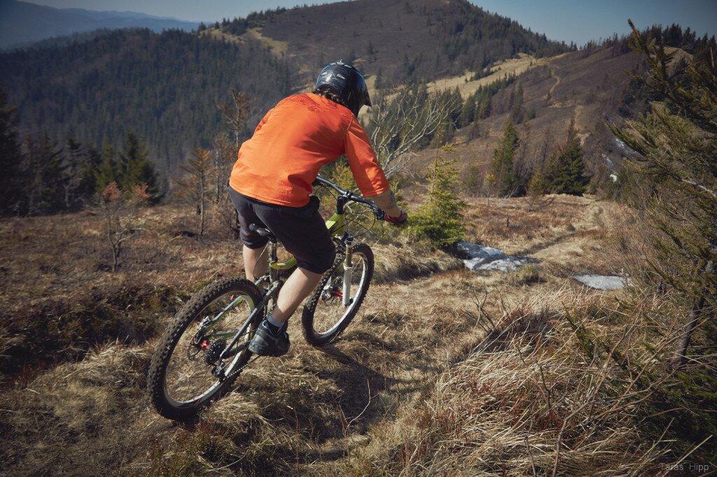Места катания: Карпатские трейлы: маршрут на гору Параска