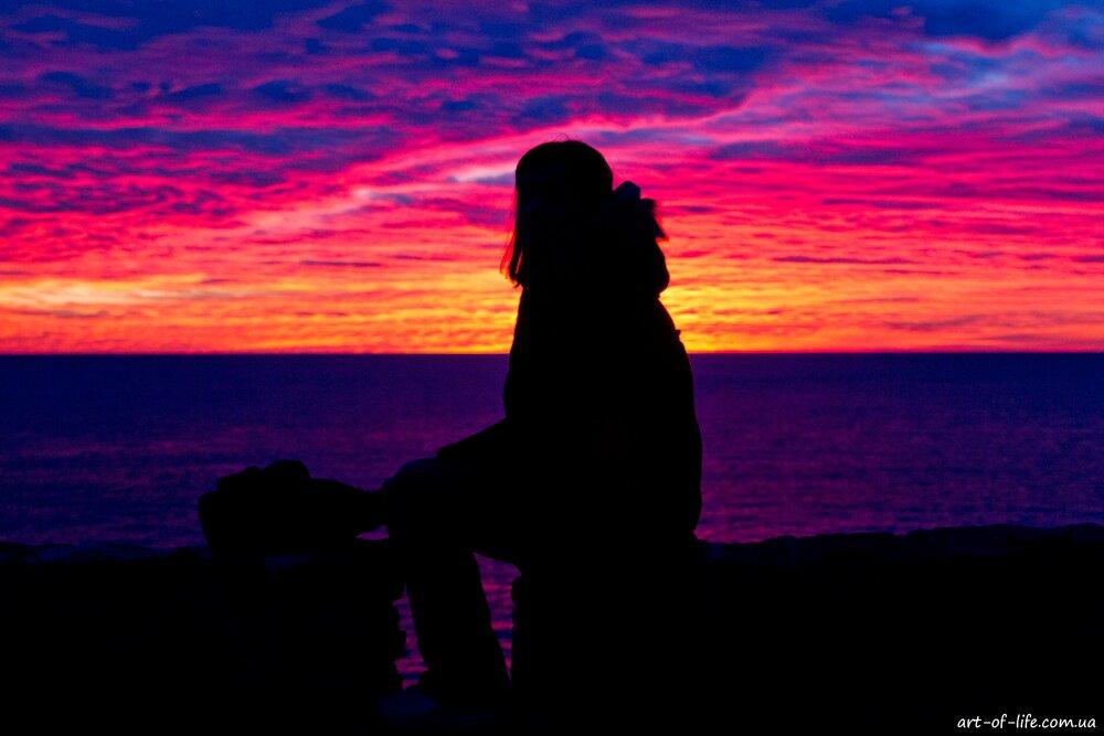 захід сонця в ріомаджоре на чинкветерре