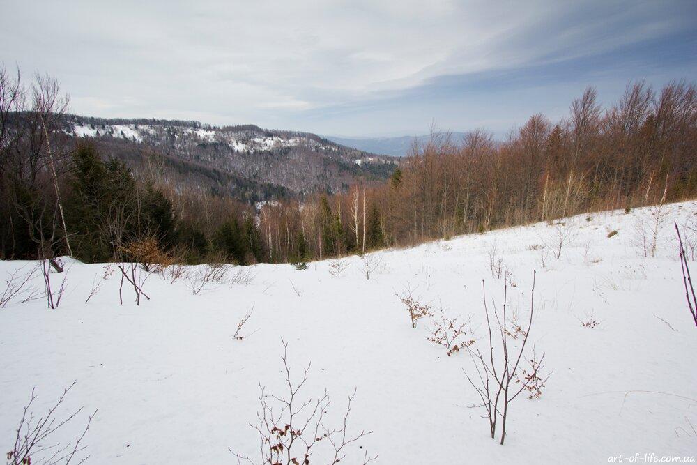 маршрут на гору Лопата, Сколе