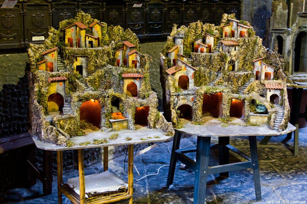 різдвяний ярмарок в Неаполі