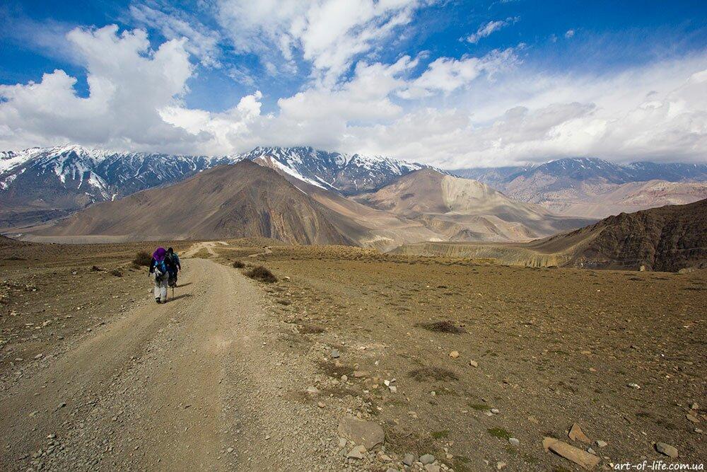 трекінг в Непалі, трек навколо Аннапурни, муктінатх