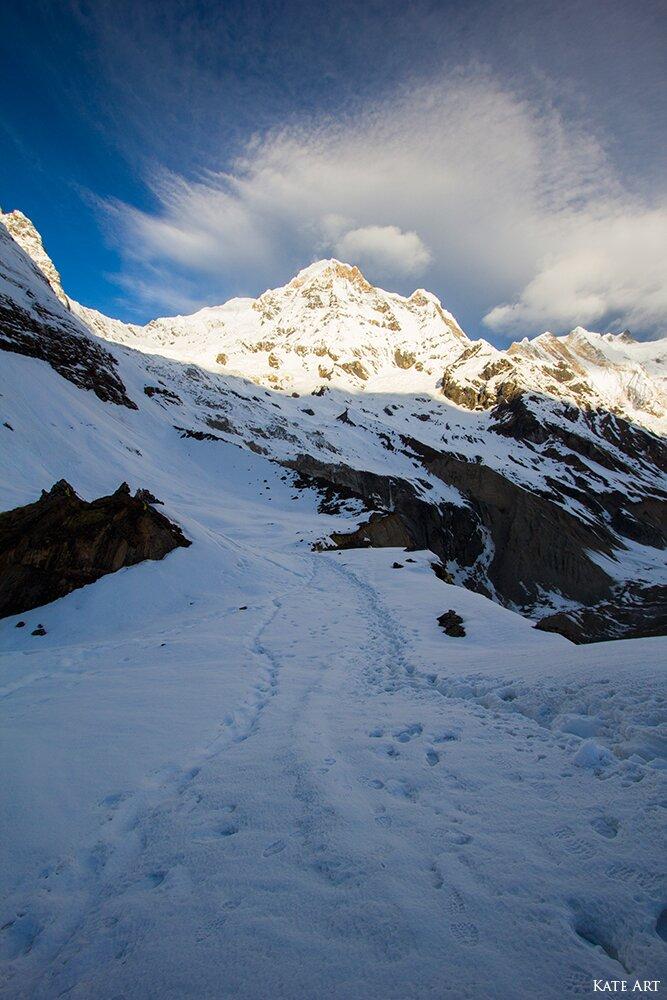 трек до базового табору Аннапурни, Непал фото, Аннапурна Непал