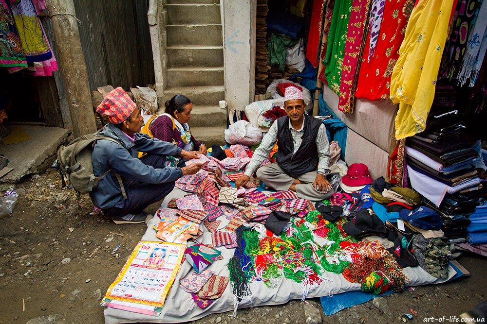 чайна плантація в Непалі
