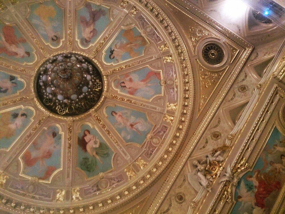 оперний театр львів, склепіння