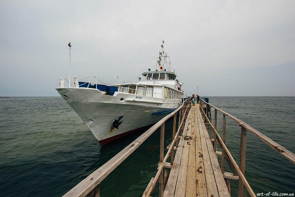 Відпочинок на Чорному морі - докладно про острів Джарилгач