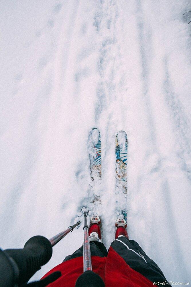 Скітур-маршрутом на гору Ільзу